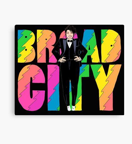 Broad City Ilana Tux Canvas Print