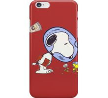 Snoopy Astronaut iPhone Case/Skin