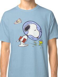 Snoopy Astronaut Classic T-Shirt
