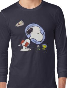 Snoopy Astronaut Long Sleeve T-Shirt