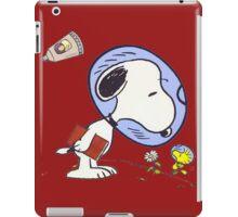 Snoopy Astronaut iPad Case/Skin