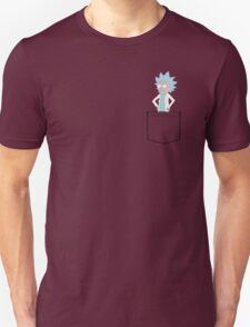 Tiny Rick Pocket! Unisex T-Shirt