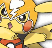 Pokken - Pikachu Libre Sticker