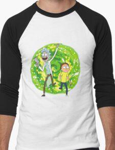 /*/Rick and Morty/*/ Men's Baseball ¾ T-Shirt