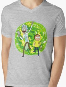 /*/Rick and Morty/*/ Mens V-Neck T-Shirt