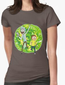 /*/Rick and Morty/*/ Womens Fitted T-Shirt