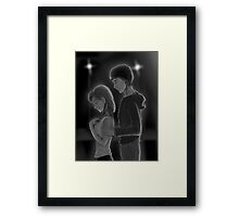 Done With Love Framed Print
