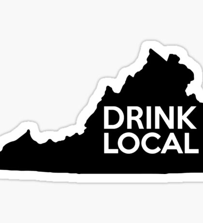 Virginia Drink Local VA Sticker