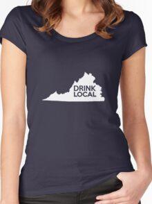 Virginia Drink Local VA Women's Fitted Scoop T-Shirt