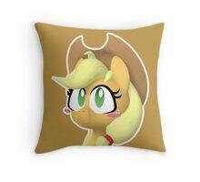 Pony Amie - Applejack Throw Pillow