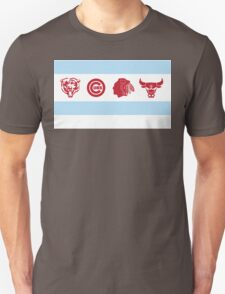 Chicago Sports Flag T-Shirt