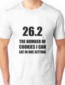 Cookies I Can Eat Marathon Unisex T-Shirt