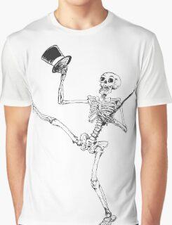 Depression Skeleton - Showtime! - Original Graphic T-Shirt