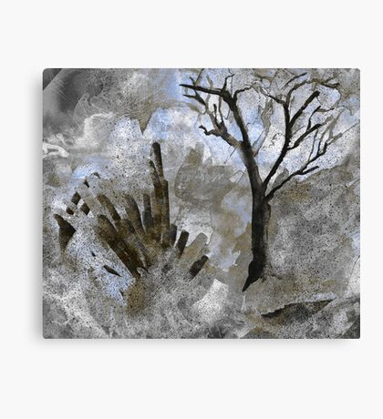 Backwoods Ghosts Canvas Print