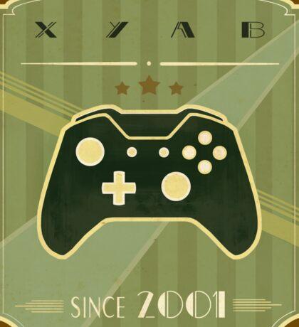 Retro Xbox One Controller Sticker