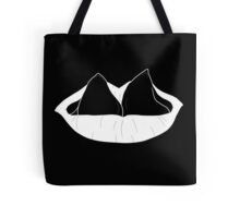 split tongue inverted Tote Bag