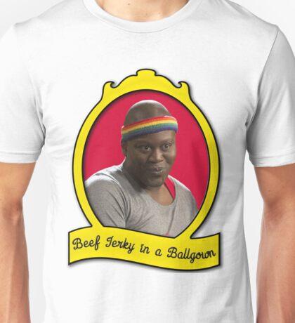 Beef Jerky in a Ballgown Unisex T-Shirt