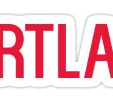 Cortland  Sticker