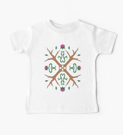 Tree and Flower Mandala Baby Tee