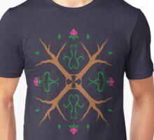Tree and Flower Mandala Unisex T-Shirt