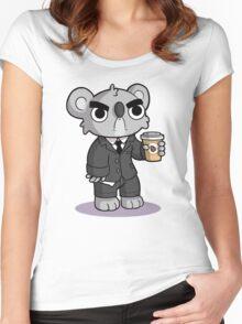 Grumpy Koala Women's Fitted Scoop T-Shirt