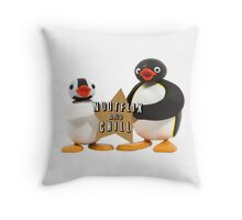 Nootflix and chill Throw Pillow