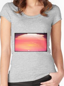 Sandy's Sunset Flyers Women's Fitted Scoop T-Shirt