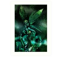 The Green Fairy Art Print