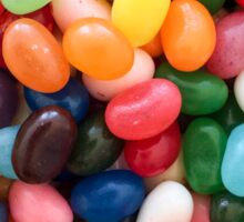 Multicolored Jelly Beans Easter Candy Sticker