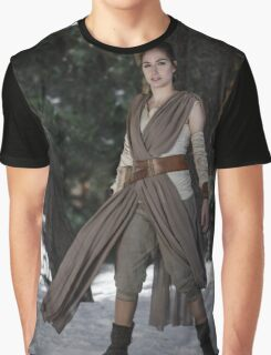 Rey cosplay 1 Graphic T-Shirt
