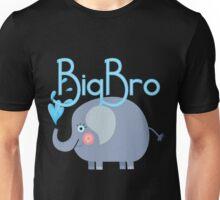 Siblings Family Elephant Big Bro Unisex T-Shirt