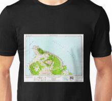 USGS TOPO Map Hawaii HI Hawaii North 349919 1961 250000 Unisex T-Shirt