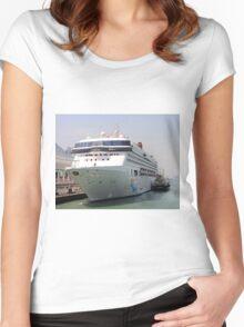 Superstar Virgo cruise ship Women's Fitted Scoop T-Shirt