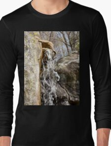 Beautiful Water Fall Long Sleeve T-Shirt