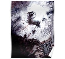 Sauron Brought Werewolves Poster