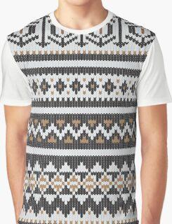 Scandinavian knitted pattern  Graphic T-Shirt