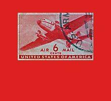 """1941-1944 Air Mail Stamp"" Unisex T-Shirt"