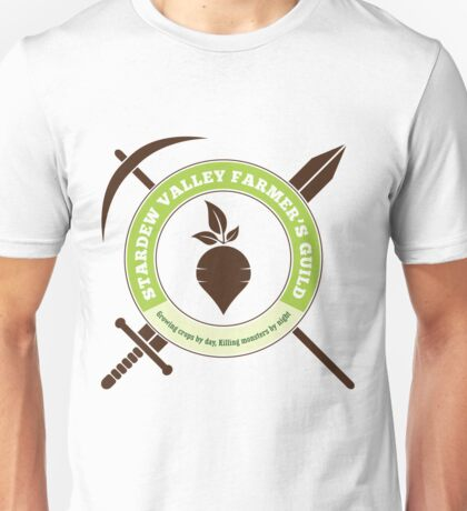 Stardew Valley Farmer's Guild Crest Unisex T-Shirt