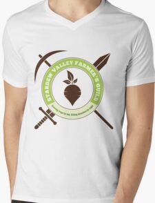 Stardew Valley Farmer's Guild Crest Mens V-Neck T-Shirt