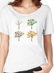 the four seasons Women's Relaxed Fit T-Shirt