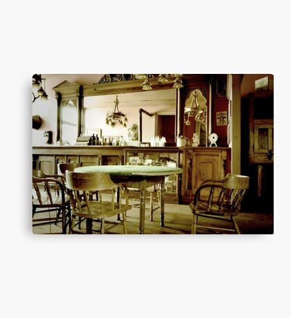 Old West Saloon Canvas Print