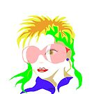 Fashion Girl with sunglasses by telberry