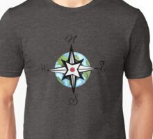 Worldly Compass Unisex T-Shirt