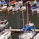 Harbor Side, Monaco by phil decocco