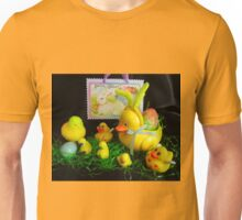 Easter With Mom, the Kids and a Cousin Unisex T-Shirt