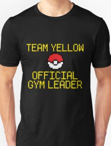 Team Yellow - Official Pokemon Gym Leader Unisex T-Shirt