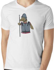 PikeMan Mens V-Neck T-Shirt