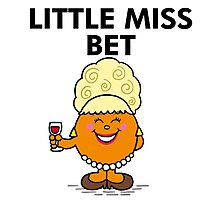 Little Miss Bet Lynch Mr Man Photographic Print