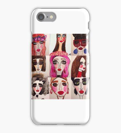 Fashion Doll Montage iPhone Case/Skin