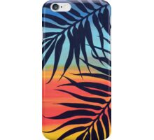 Palm Tree at Sunset iPhone Case/Skin